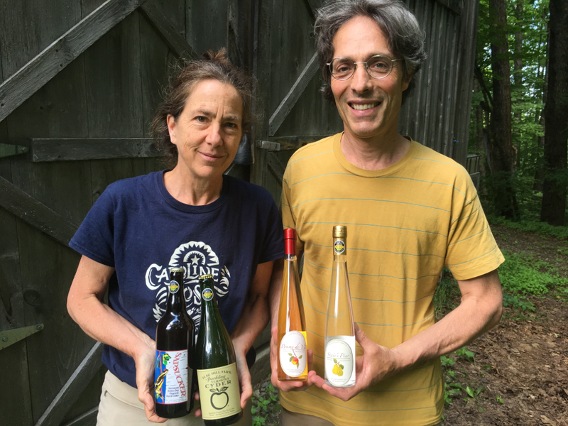 Flag Hill Farm owners, Sabra Ewing and Sebastian Lousada, have been making hard ciders since long before the beverage's recent wave of popularity.