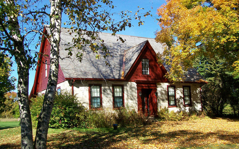 The poet Robert Frost lived at this stone house in Shaftsbury for nine years. Bennington College will acquire and manage the property.