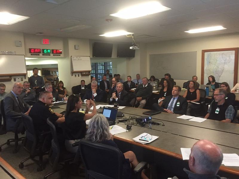 Members of the Marijuana Advisory Commission met for the first time Thursday in Waterbury. Administration officials say it's now a matter of how, not if, Vermont legalizes marijuana.