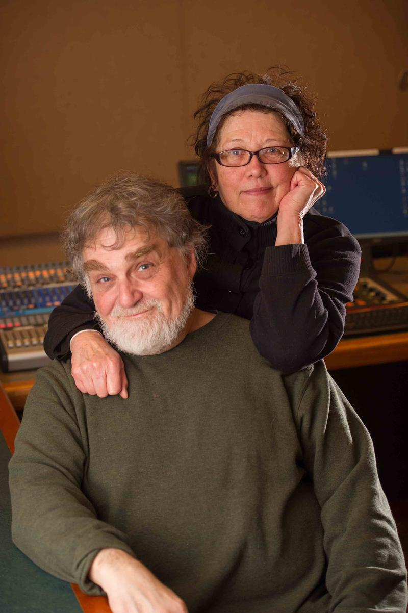 Robert and Nora in the Control Room !