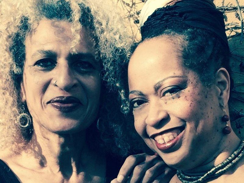 Singers Samirah Evans and Evelyn Harris perform an evening of songs by Etta James and Nina Simone at Historic Town Hall in Wilmington.