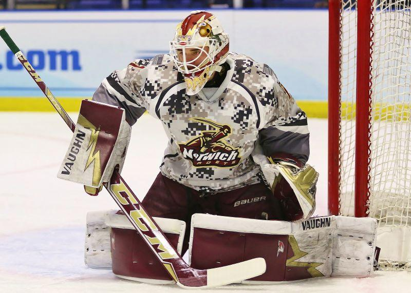Goal tending by Braeden Ostepchuk will be a critical element for Norwich University, as it looks to extend a stretch of success that brought the Cadets their fourth national championship.