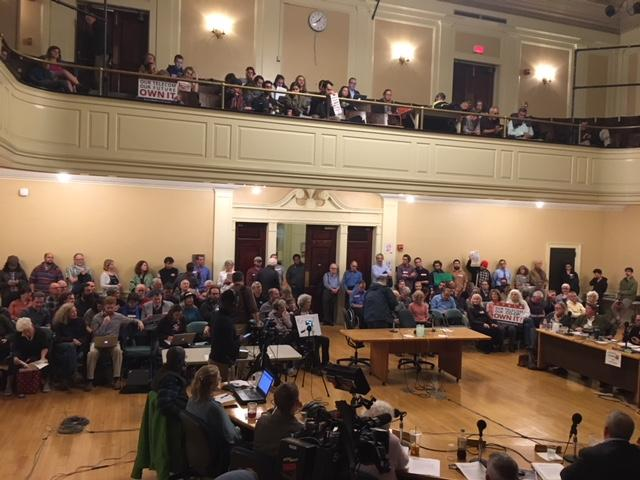The Burlington City Council voted to postpone their vote to select the buyer for Burlington Telecom. The council will take up the issue in a week.