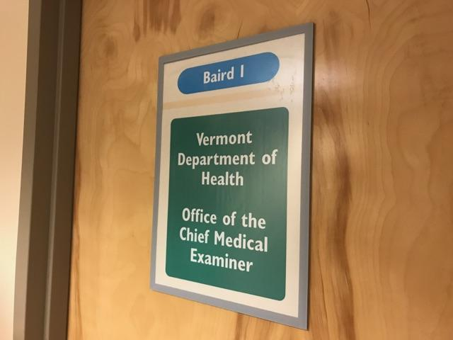 Dr. Steve Shapiro is the chief medical examiner for the state of Vermont. Back in August, Shapiro spoke to VPR at the UVM Medical Center about the challenges of his position.