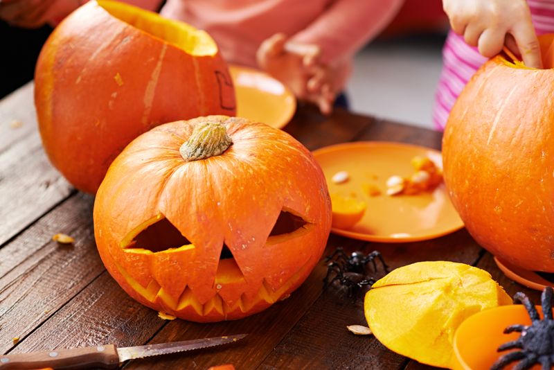 Selecting the right pumpkin and using carving tools will help to create a jack-o'-lantern masterpiece.