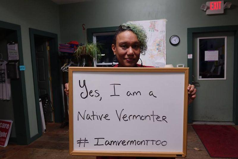 Shela Linton, co-coordinator of the I Am Vermont Too project shares one of her microagressions.