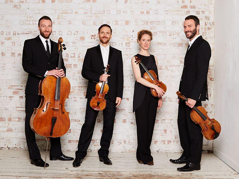 The Heath Quartet visits VPR's Studio One to play live on Thursday.