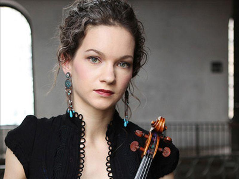 Hilary Hahn plays Beethoven's Violin Concerto this week on SymphonyCast.
