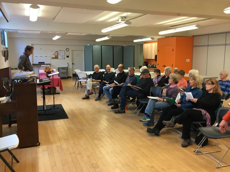 "The 30 members of the Reelin' n Rockin' music class at the Montpelier Senior Activity Center are learning the four-part harmony to the Turtles classic, ""Happy Together."" They're part of a wave of aging Vermonters viewing retirement differently."