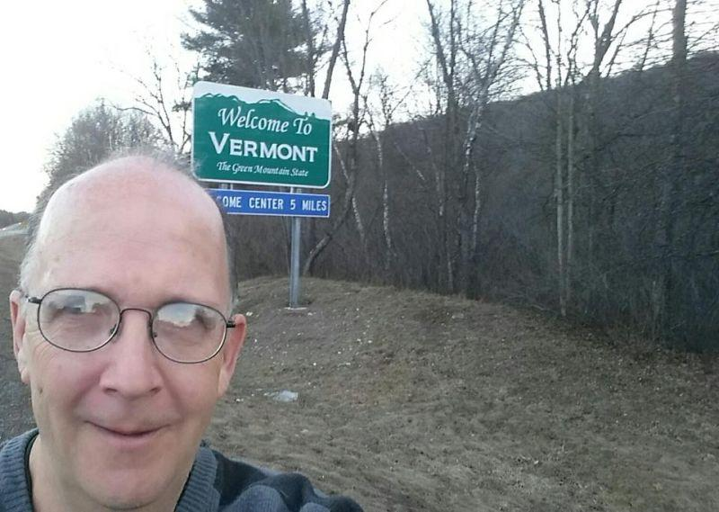 Dave DeVarney is nearing his goal of running through all 251 Vermont towns.
