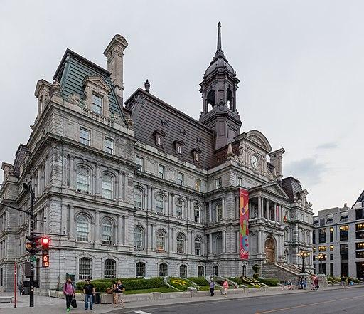 Montreal City Hall. This weekend residents in Quebec head to the polls for municipal elections. In Montreal, incumbent Mayor Denis Coderre faces a change from City Councillor Valerie Plante.