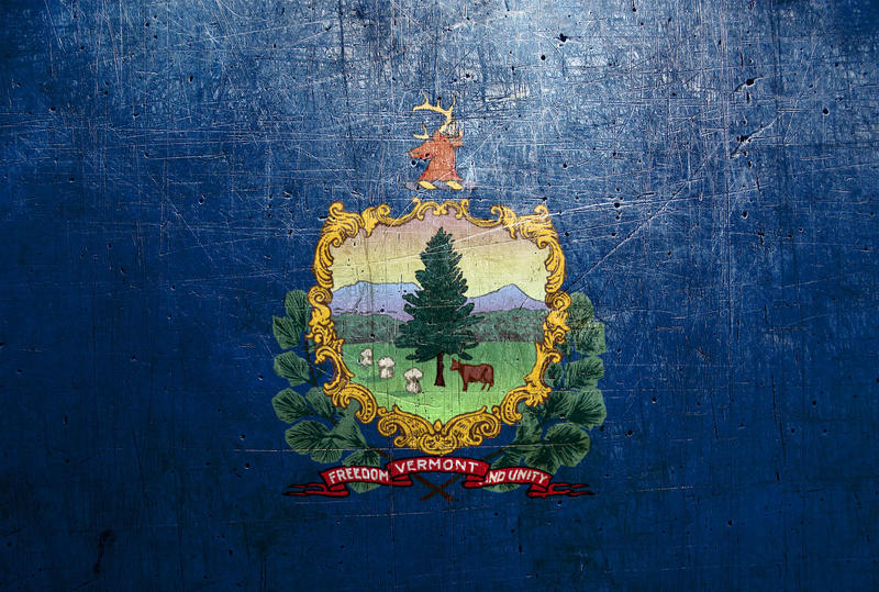 An image of the Vermont state flag.