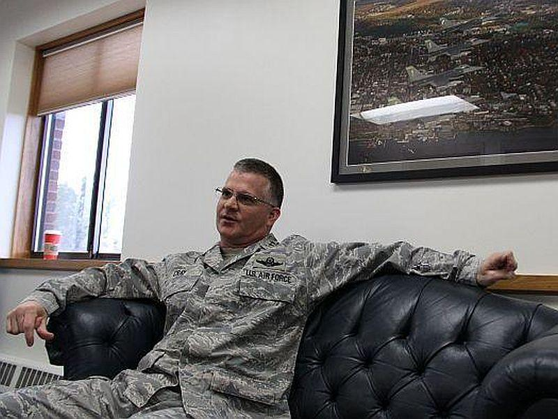 "Vermont Adjutant General Steven Cray, pictured here at Camp Johnson in Colchester back in 2013, joins this ""Vermont Edition"" to discuss key issues facing the Vermont National Guard."