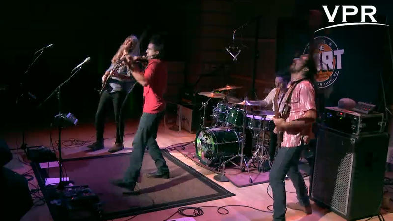Gang of Thieves perform in VPR's own Studio One
