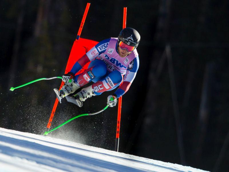 Andrew Weibrecht of Lake Placid, seen here in 2017 Audi Birds of Prey FIS Ski World Cup at Beaver Creek, CO, will be competing in the Olympics in February.