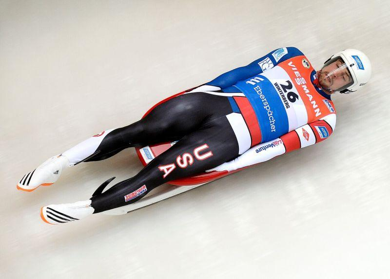 Chris Mazdzer will be representing the USA in luge.