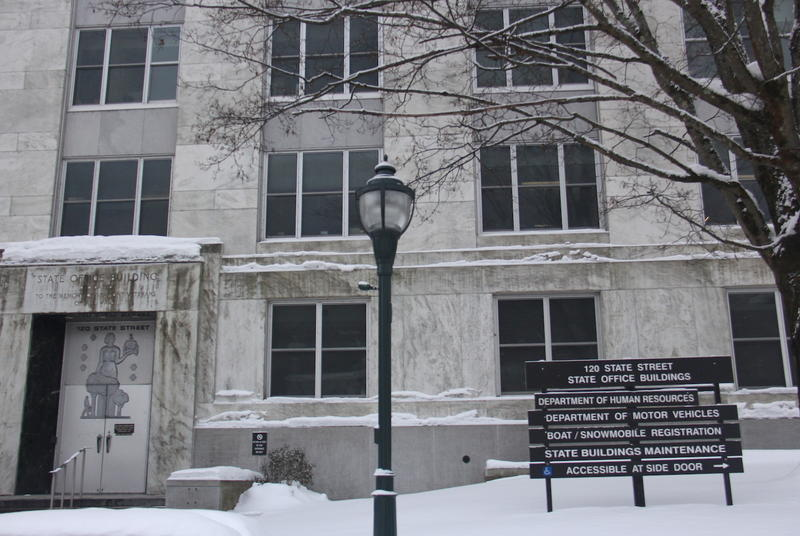 The Vermont state offices for the Department of Human Resources and the Department of Moter Vehicles.
