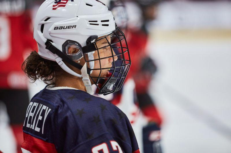 Amanda Pelkey grew up in Montpelier and was a standout player at UVM. Now she'll play for Team USA in the 2018 Olympics.