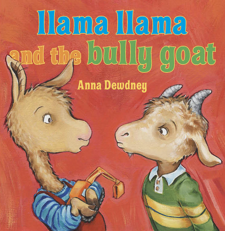 "The cover of ""Llama Llama and the Bully Goat,"" one of Vermont author Anna Dewdney's hugely popular children's books."