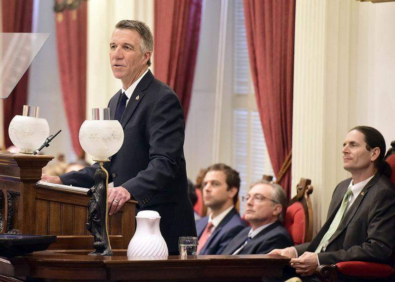 Republican Gov. Phil Scott used his State of the State address Thursday to telegraph a forthcoming plan that would eliminate a 7-cent increase in statewide property tax rates next year.