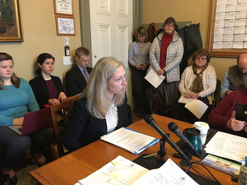 Sara Teachout, with Blue Cross Blue Shield of Vermont, told legislators this week that the state can offset the loss of $12 million in federal revenues by changing the premium structure for certain health insurance plans.