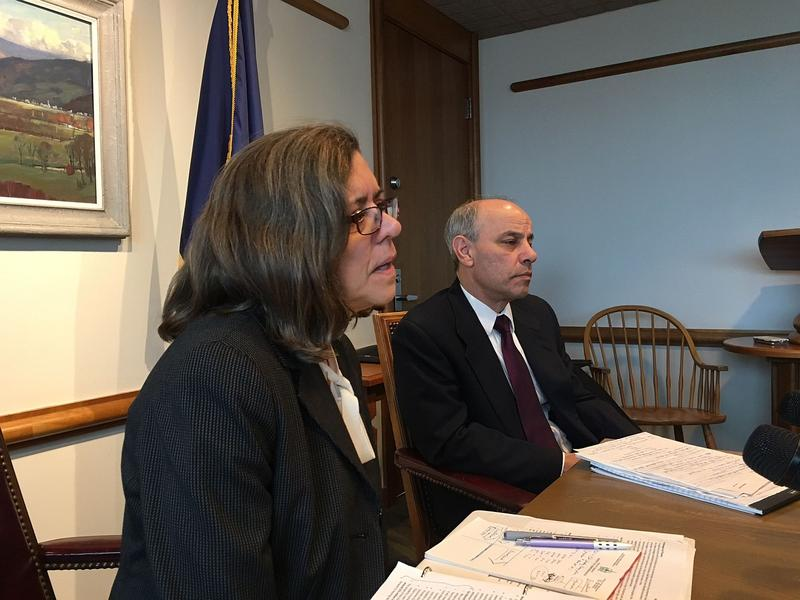 Secretary of Administration Susanne Young and Commissioner of Finance Adam Greshin told reporters Tuesday that the governor's fiscal year 2019 budget plan ties rate of growth in state spending to the increase in Vermonters' wages.