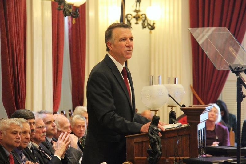 Gov. Scott delivered his 2018 budget address before a joint session of the Vermont Legislature.