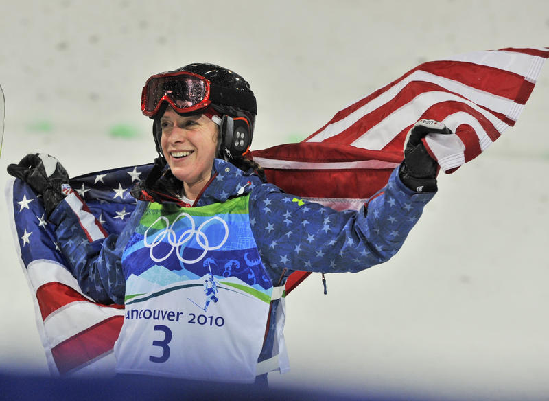 Hannah Kearney of Norwich won a gold medal in the 2010 Winter Olympic and a bronze in 2014.