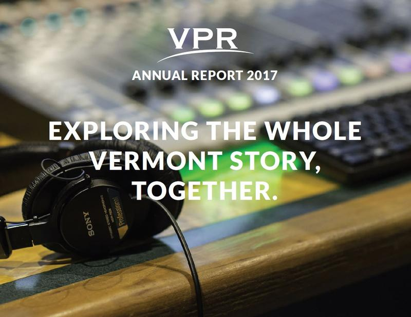 VPR's Annual Report for 2017