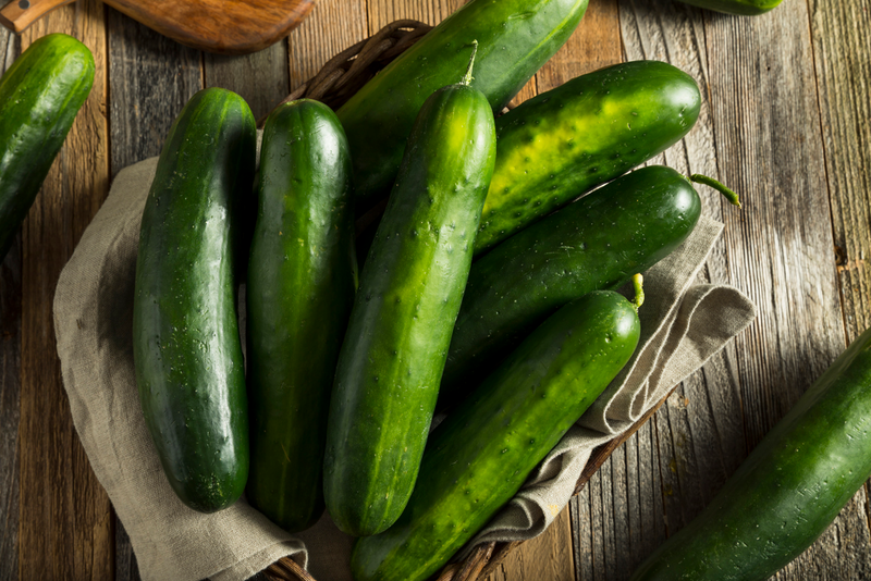 Originating in India, the traditional cucumber has evolved over the past 3,000 years and includes an assortment of shapes and colors.