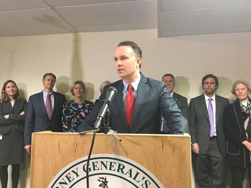 Attorney General TJ Donovan announced a $28 million settlement with tobacco companies Thursday. Gov. Phil Scott and legislative leaders say they'll use $14 million to combat the state's opioid problem. They have yet to decide how to spend the remainder.