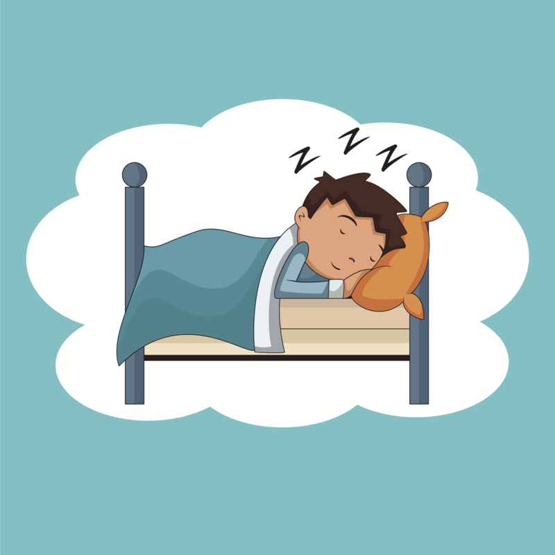 Getting enough sleep is really important for the development of your brain, muscles, and emotional health.