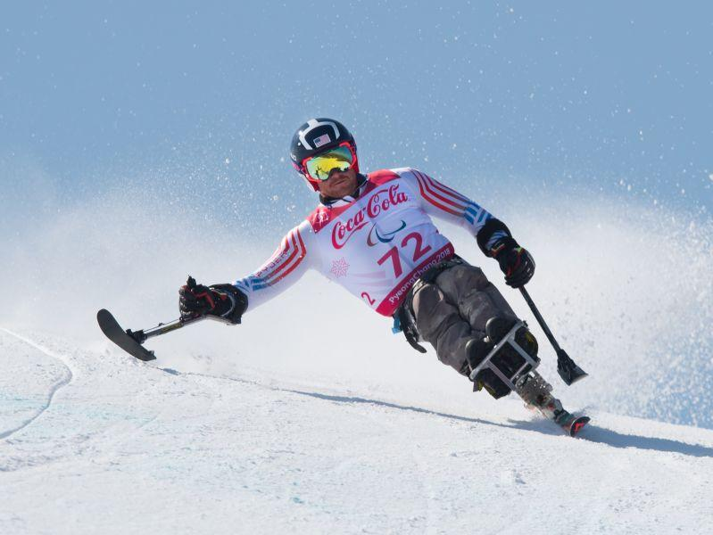 Burlington native Stephen Lawler represented Team USA at the 2018 Peyongchang Winter Paralympic Games.