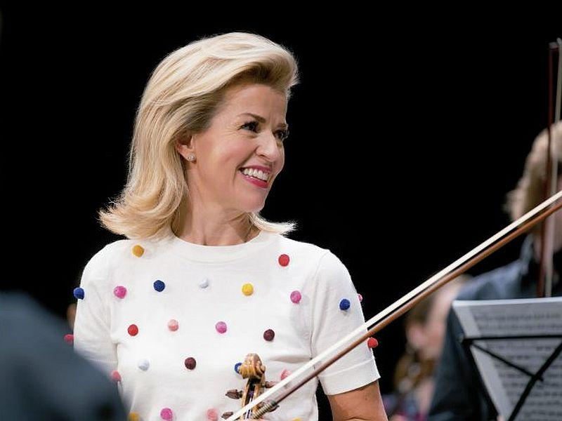 Anne-Sophie Mutter plays Tchaikovsky's Violin Concerto with the CSO this week.