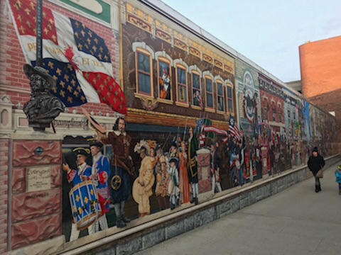 The 'Everyone Loves A Parade' mural in downtown Burlington has been criticized for not being inclusive. The city council voted Monday night to create a task force to come up with a plan make the mural more representative of Vermont's diversity.