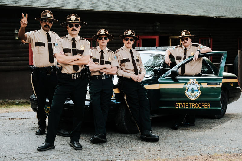 """Super Troopers 2"" is being released on April 20."