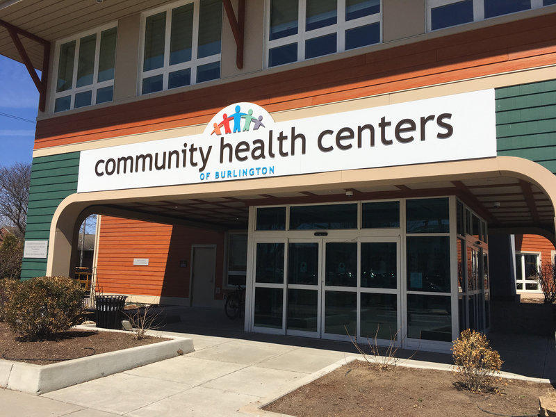 Exterior of Community Health Centers of Burlington building.