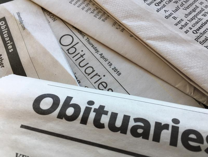 What details would you include in your obituary? A Brattleboro-area hospice is using the question to encourage thinking about living and aging well.