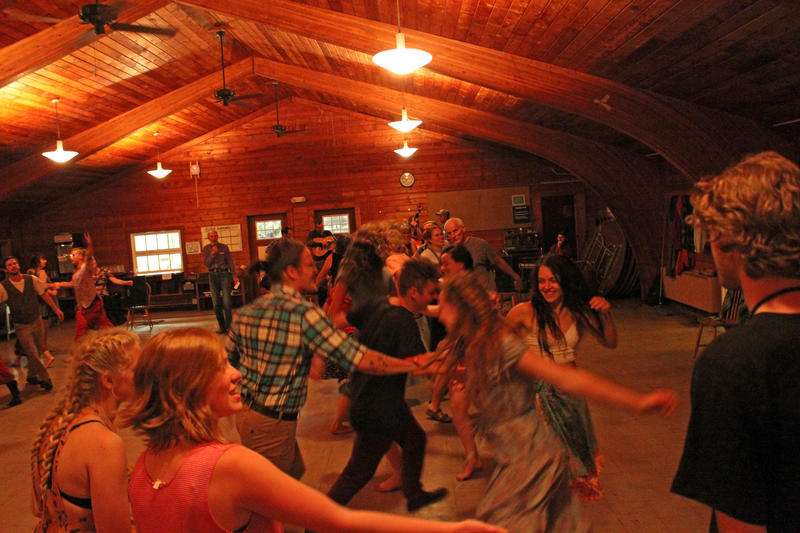 Contra and other forms of country dance have a lasting appeal. We're talking about the history behind the tradition.