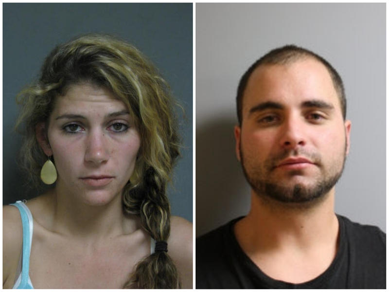 Police are searching for 31-year-old Erika Guttilla, left, and Corey Cassani, 28.