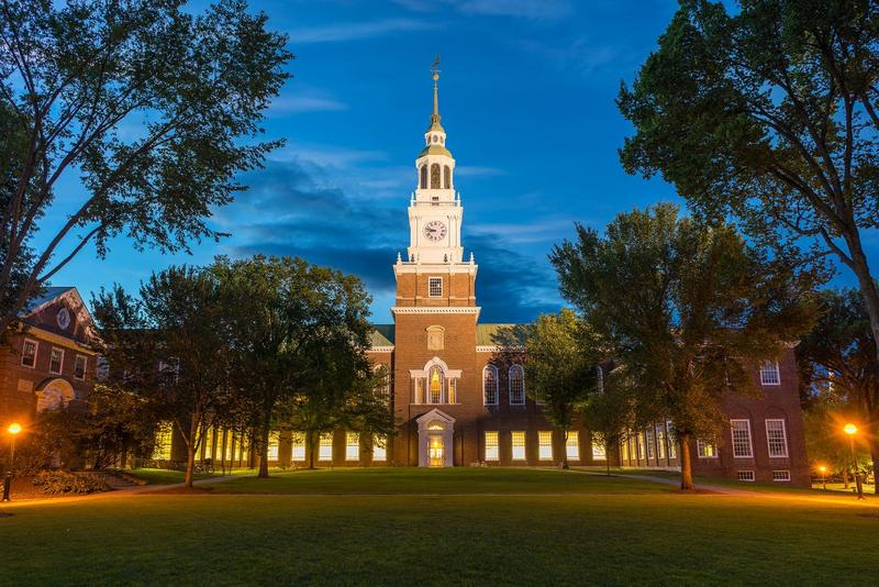 Dartmouth College is one of the two remaining members of University Press of New England, a consortium that included 10 colleges at one point. University Press is closing.