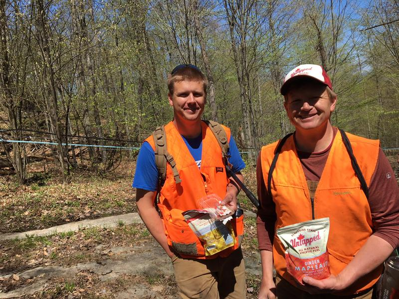 "Doug Brown and his brother Roger, right, operate Slopeside Syrup in Richmond. They're challenging a proposed federal label that would say maple syrup has ""added sugar."""