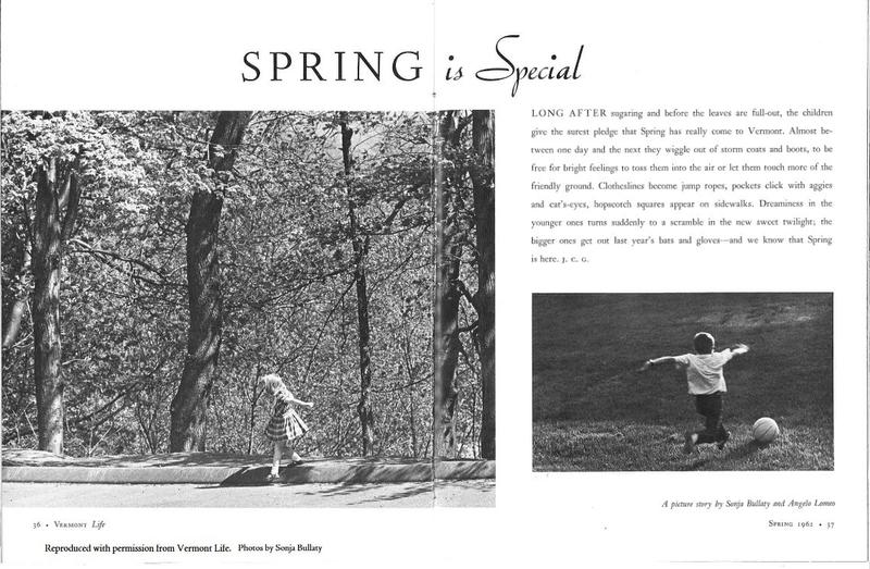 In 1961 Bullaty and Lomeo published a photo essay of children celebrating the joys of spring.