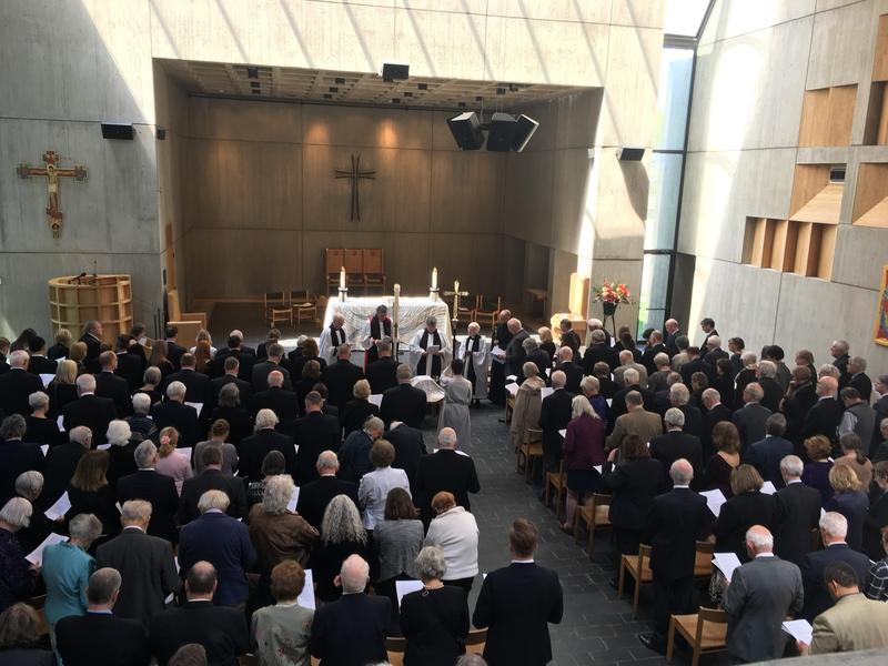 A memorial service for former Gov. Phil Hoff was held Saturday in Burlington at the Cathedral Church of St. Paul. Hoff's election in 1962 marked the first time in over 100 years that a Democrat held the office.