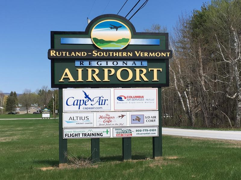 Rutland-Southern Vermont Regional Airport.