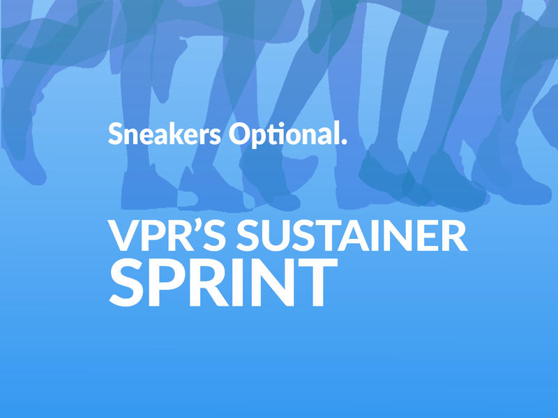 VPR's Sustainer Sprint is a race to welcome Sustaining Members to the VPR Family.