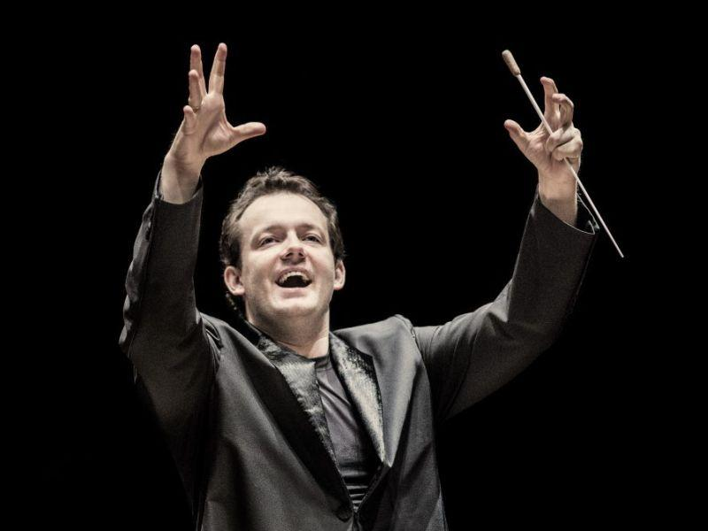 Conductor Andris Nelsons leads the BSO this week.