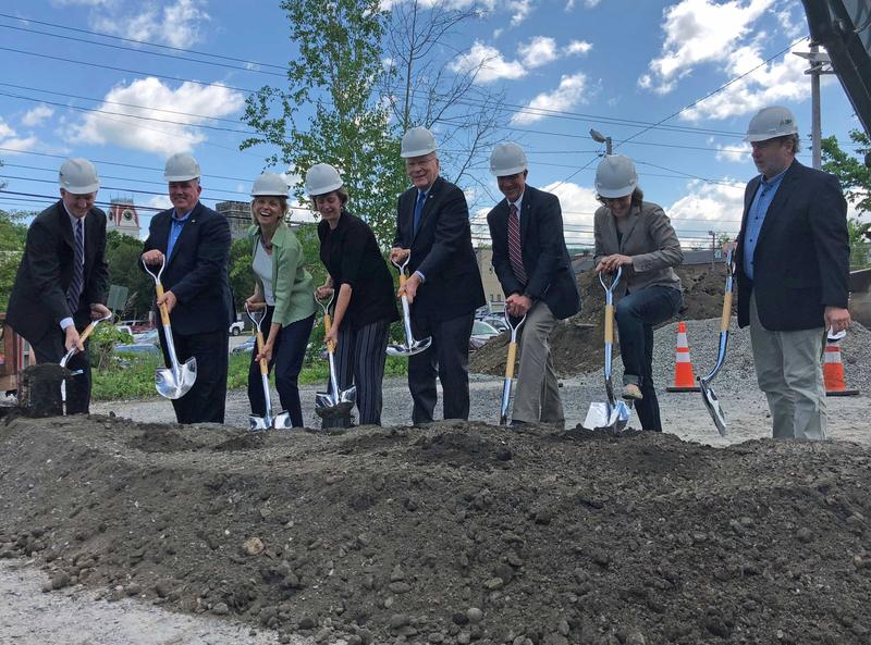 A groundbreaking ceremony was held at One Taylor Street, in Montpelier on Tuesday, May 29.