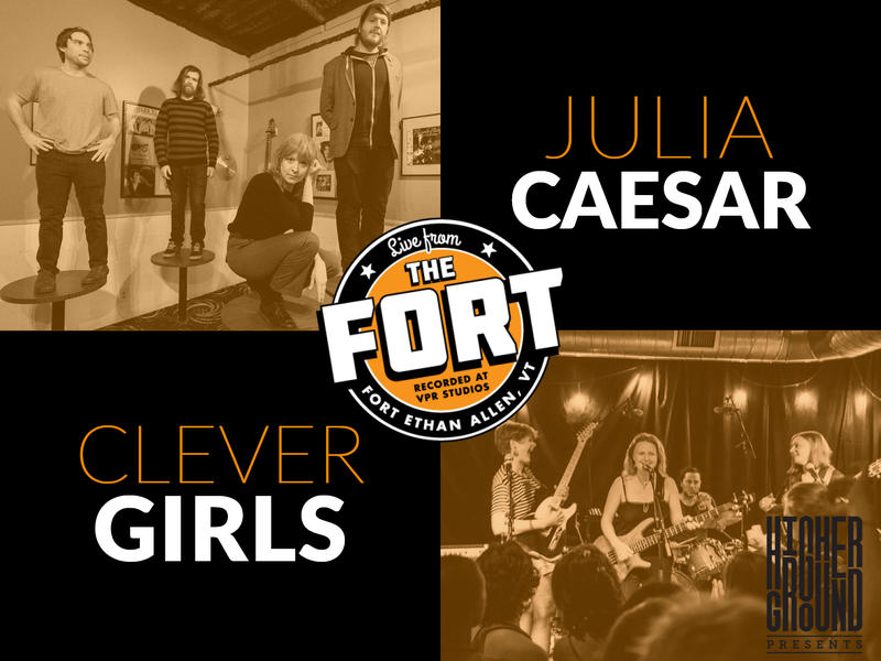 Come see Julia Caesar and Clever Girls 'Live From The Fort' on Thursday, June 28.