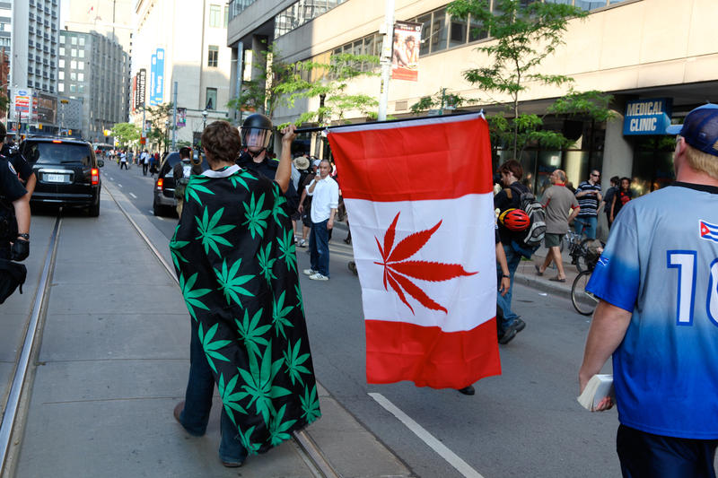 On Tuesday, Canada's senate passed a marijuana legalization bill. Retail stores could open in about two months.